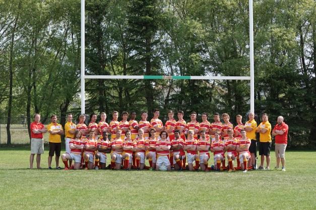 2015 Strathcona Boys Team Photo